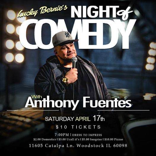 Comedy Night with Anthony Fuentes0